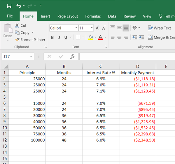 Hot PC Tips - Excel Loan