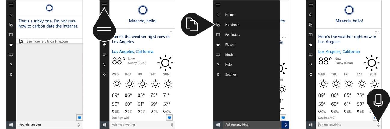 Hot PC Tips - More Ask Cortana