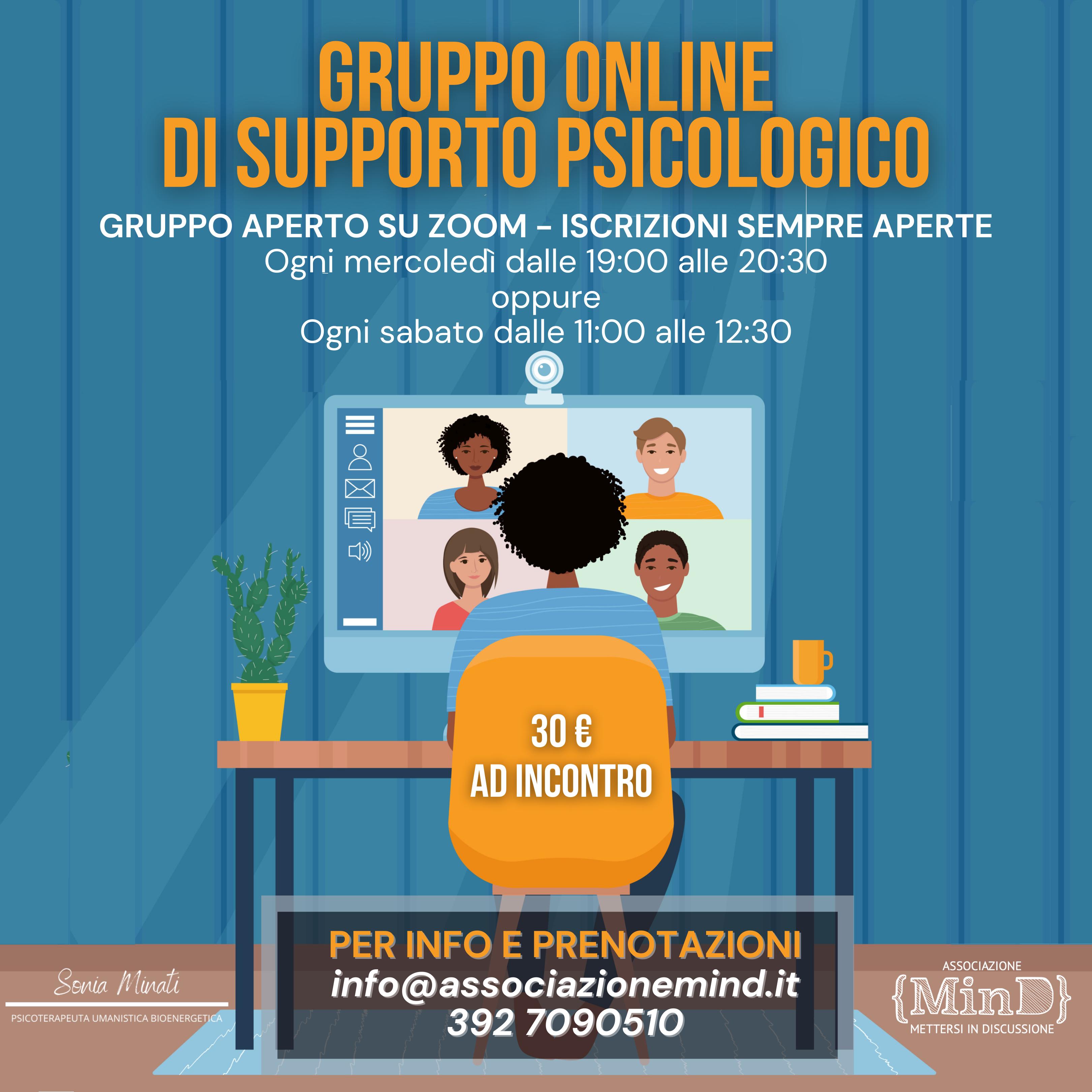 gruppo di sostegno psicologico