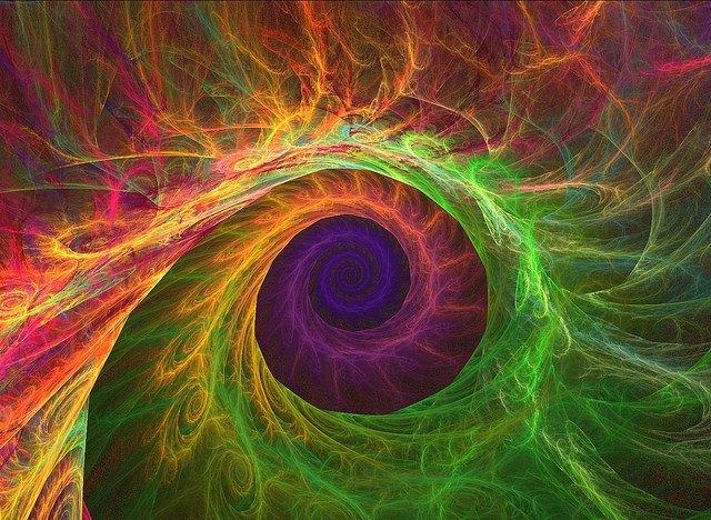 inward spiral