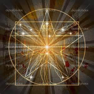 light pentagram