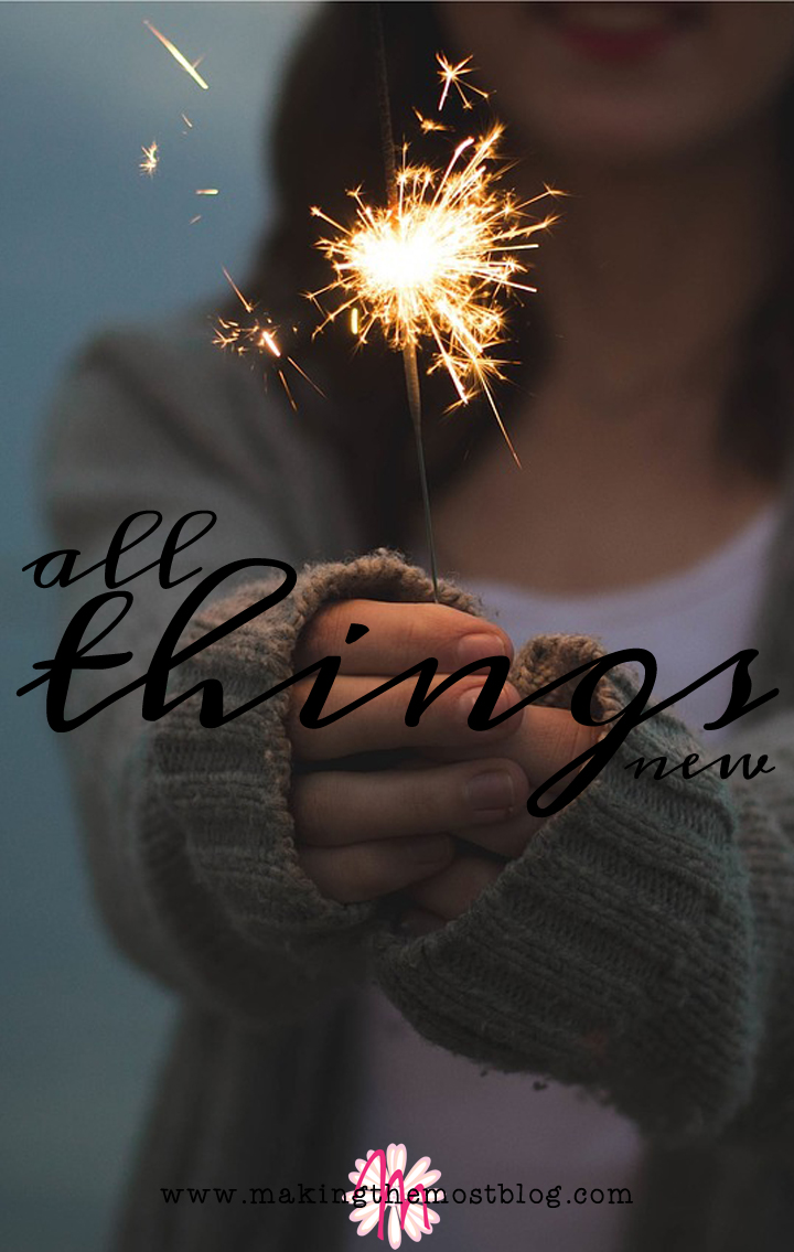 All Things New | Making the Most Blog