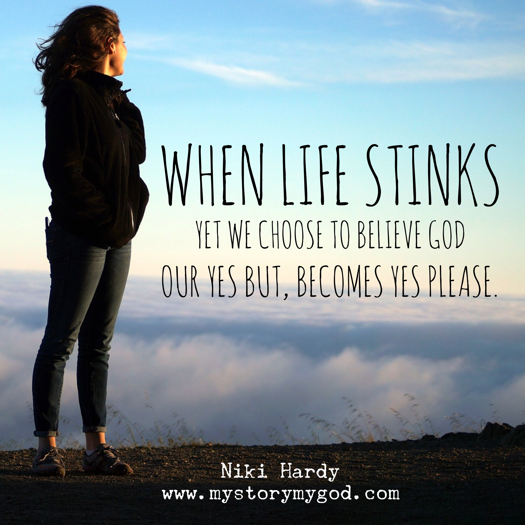 """What to Do When We Say, """"Yes, but God..."""" 