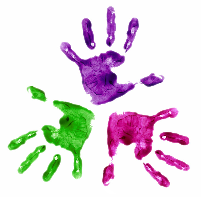 Colorful Hands   How a Penny Taught My Daughter About Diversity   Making the Most Blog