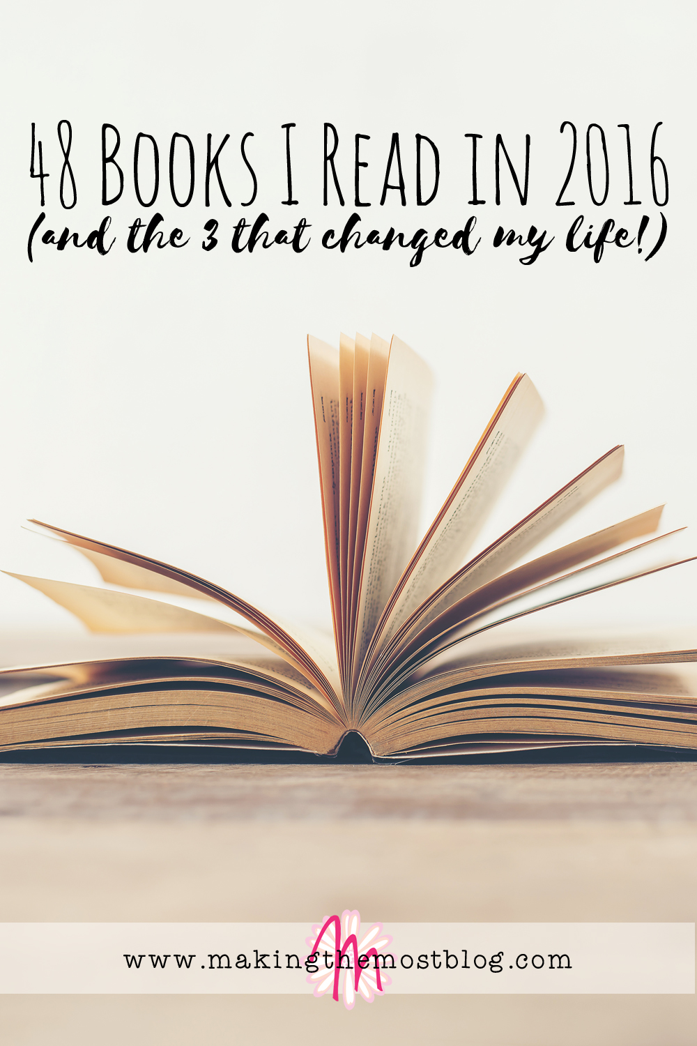 48 Books I Read In 2016 (And The 3 That Changed My Life!)