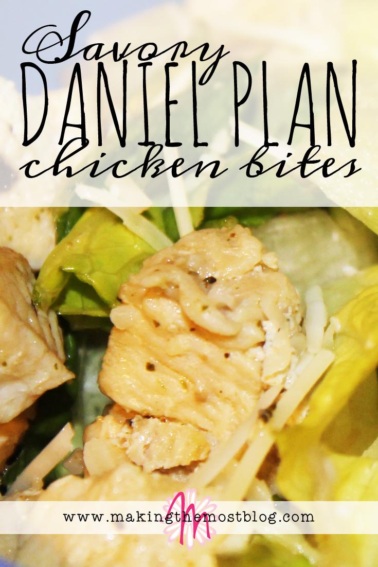 Savory Daniel Plan Chicken Bites