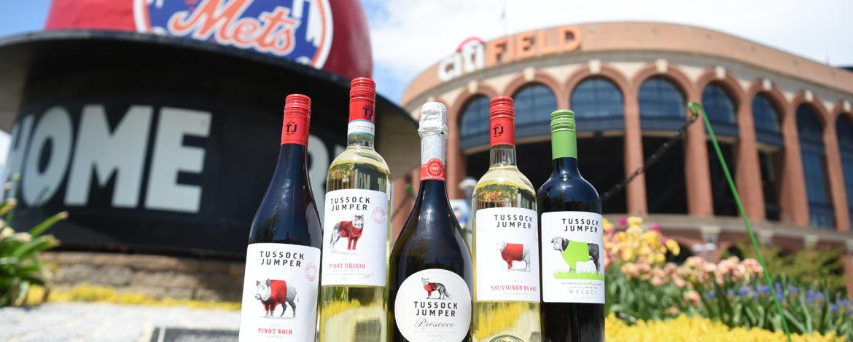 Tussock Jumper Wines at Citi Field
