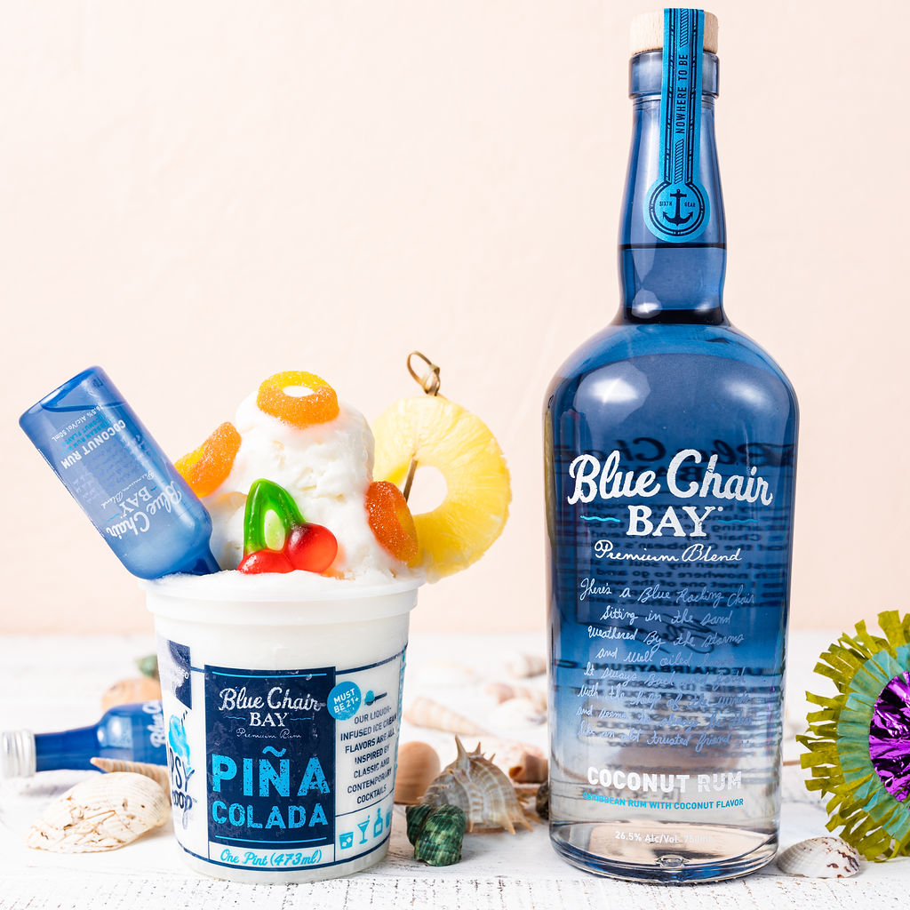 Blue Chair Bay Rum Flavored Tipsy Scoop Ice Cream