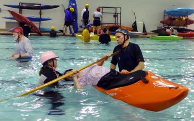 Kayak skills classes offered