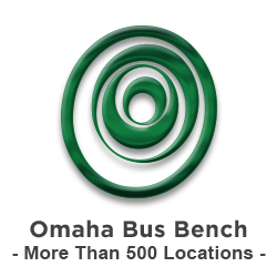Omaha Bus Bench More than 500 locations