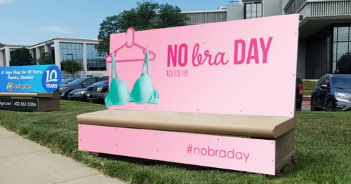 No Bra Day 2018