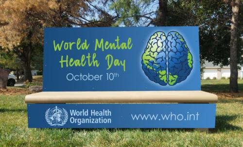 World Mental Health Day 2017 Bench
