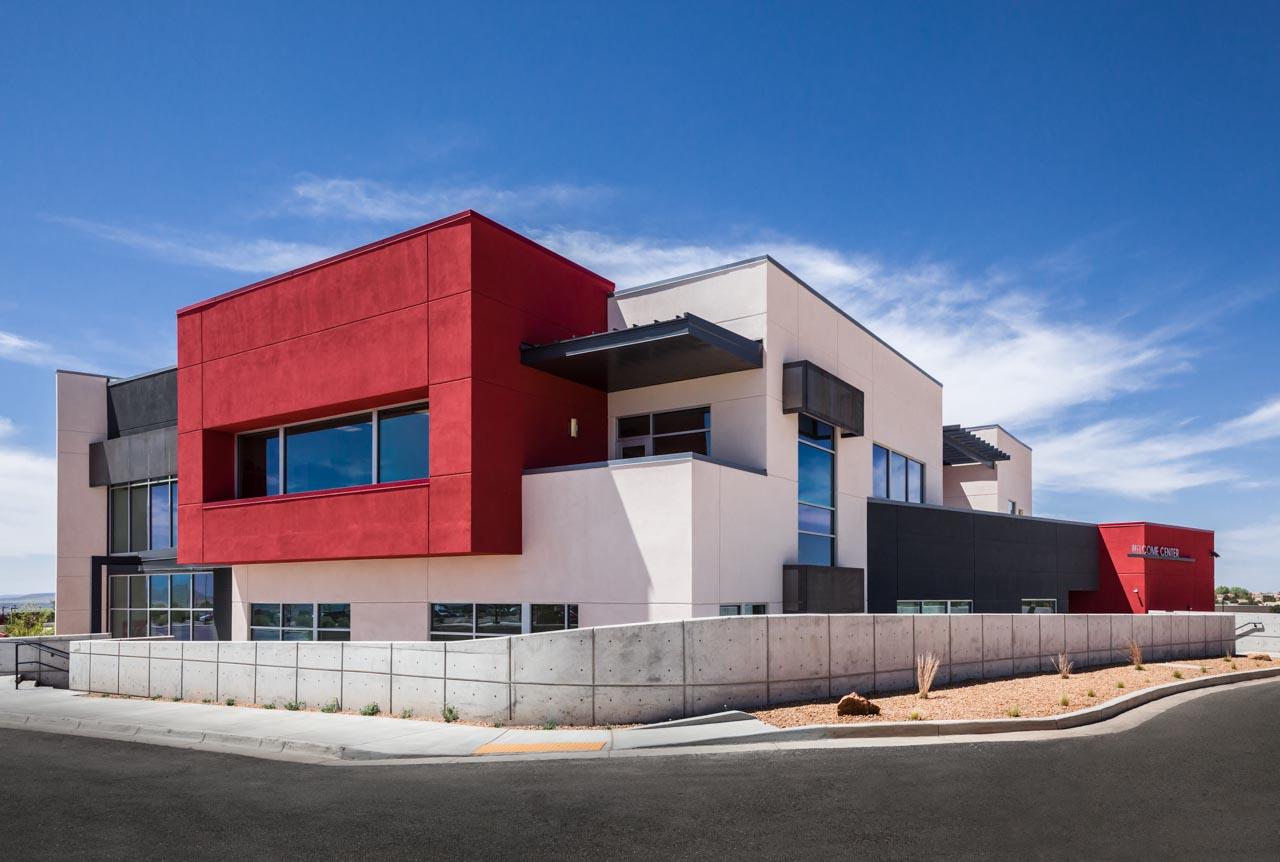 IAIA Lloyd Kiva New Welcome Center