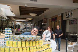Armando at Canstruction 2