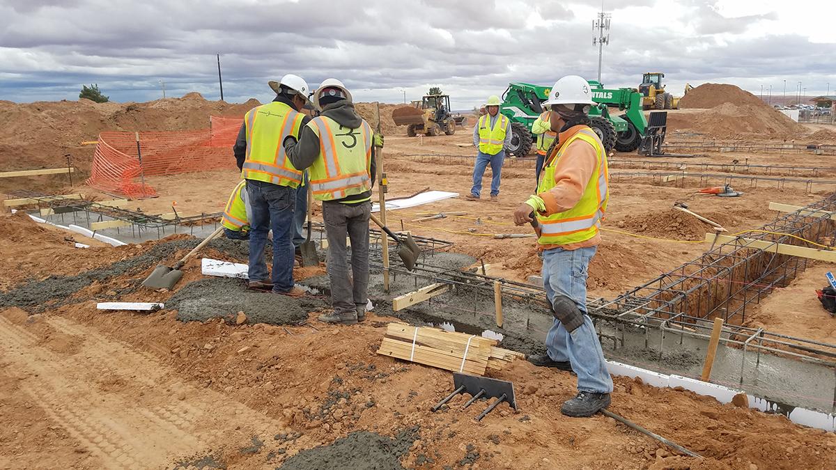 Chinle Nursing Home Construction 2