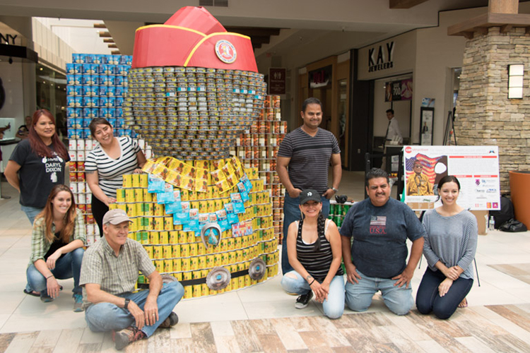 Canstruction group photo