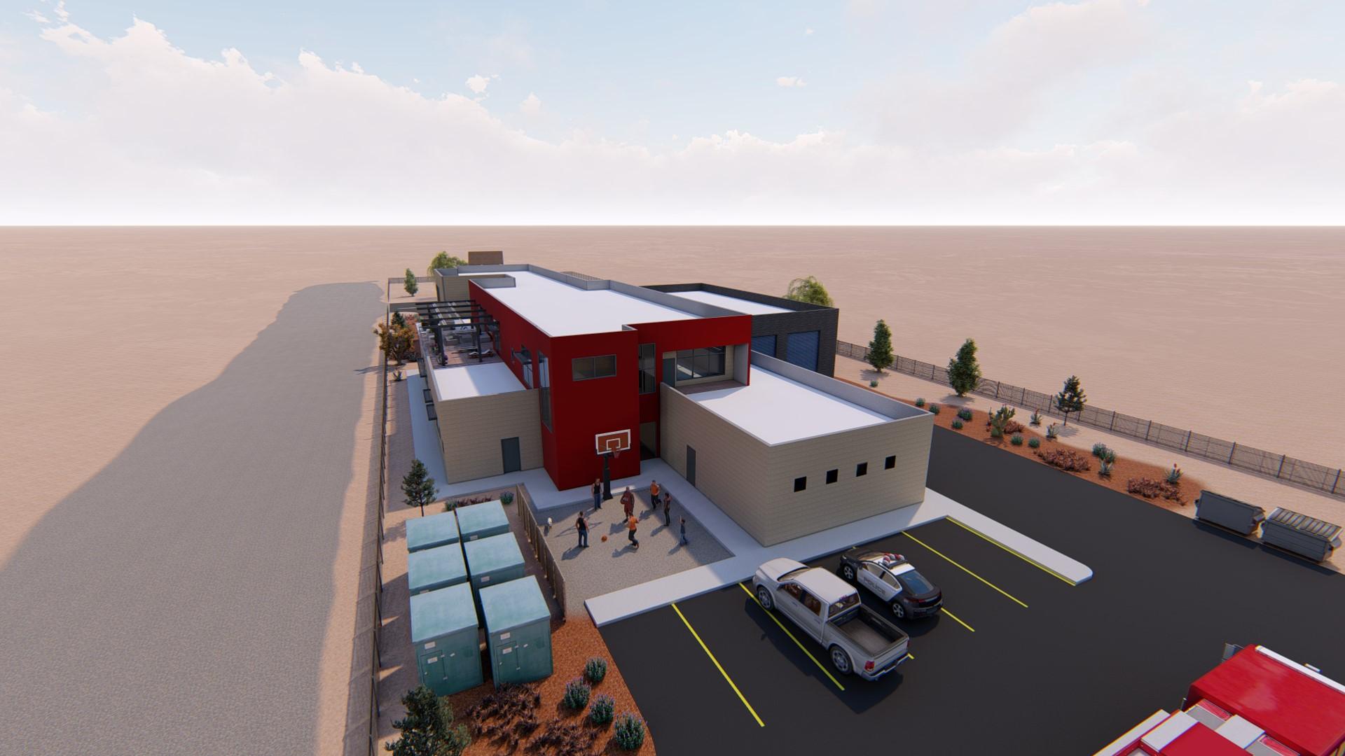 shiprock incident command center rendering