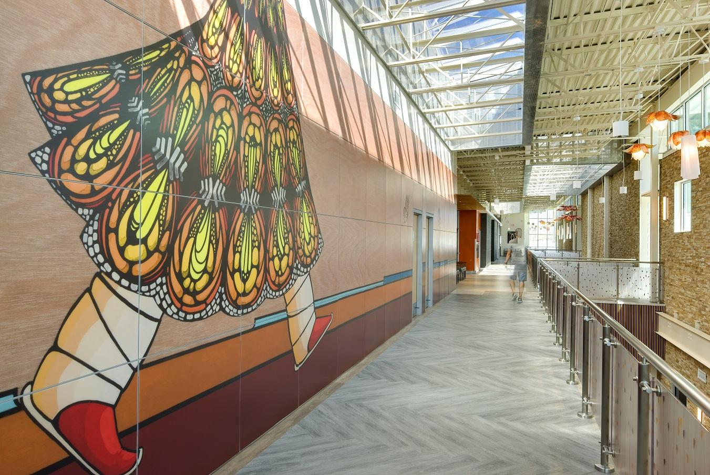Montezuma Creek Health Center Mural