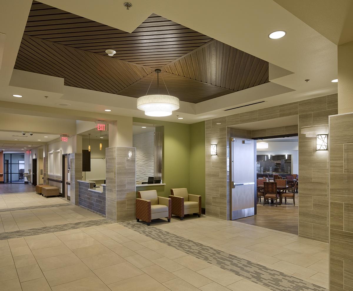 Chinle Nursing Home Lobby & Dining