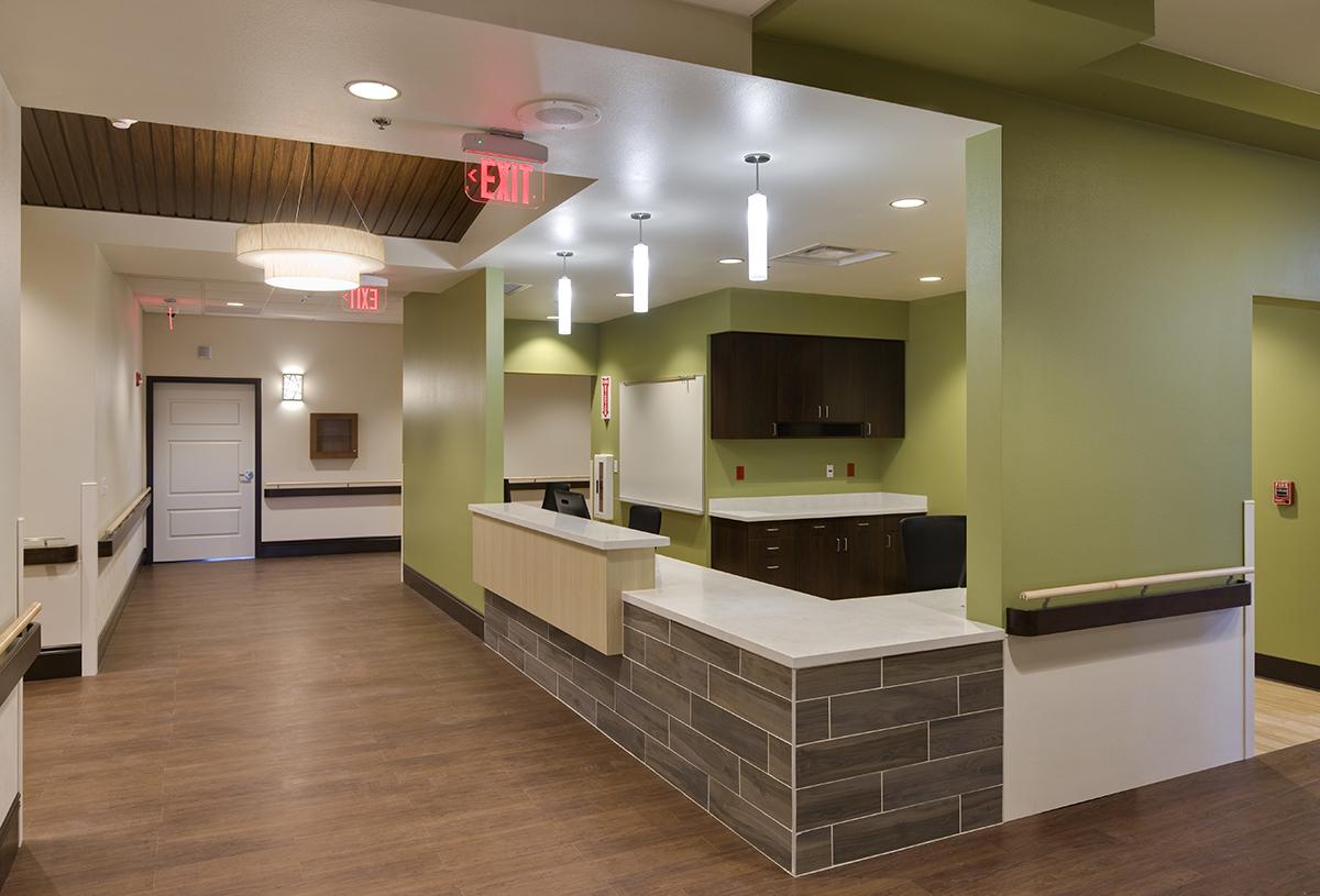 Chinle Nursing Home Nursing Station Green