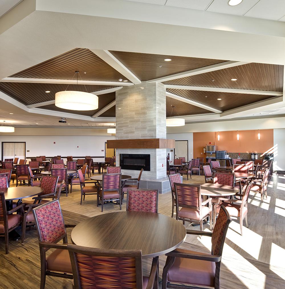 Chinle Nursing Home Dining Room