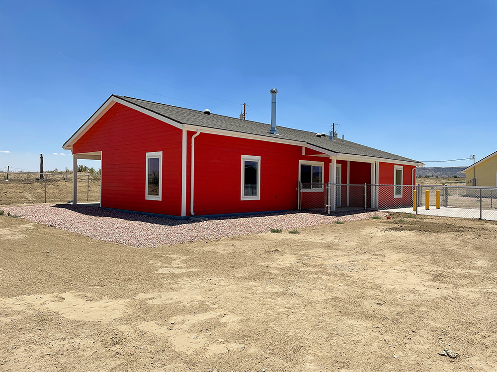 Navajo Housing Authority in Littlewater is Complete