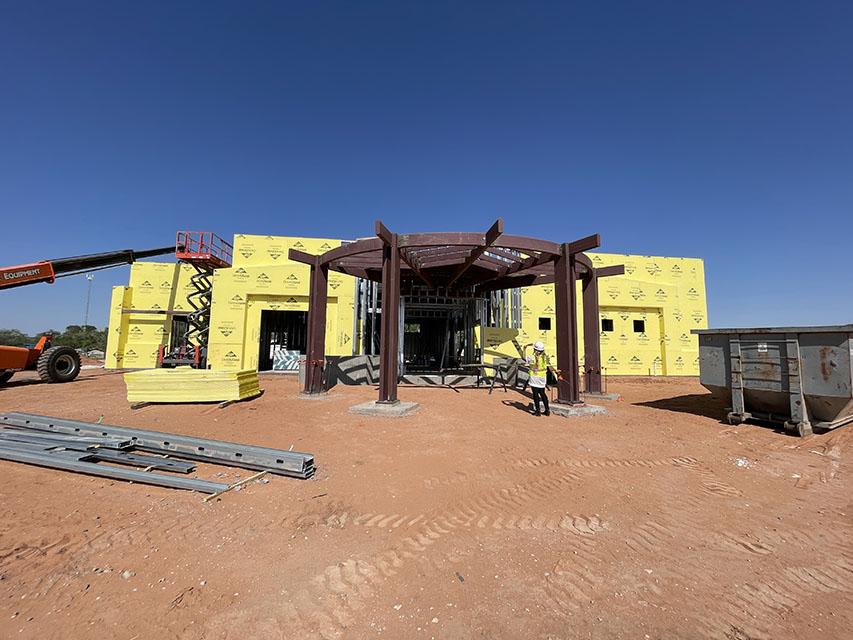 The Thoreau Veteran's Center Construction Update
