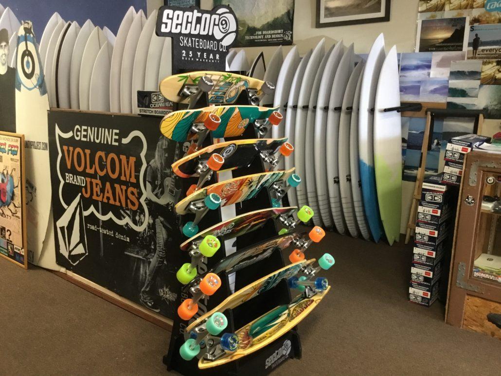 New Sector Nine skateboards in