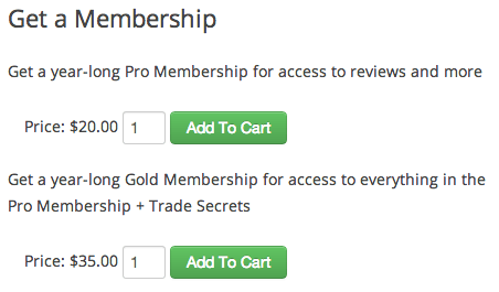 Sell with WordPress   Cart66 Purchase Subscriptions