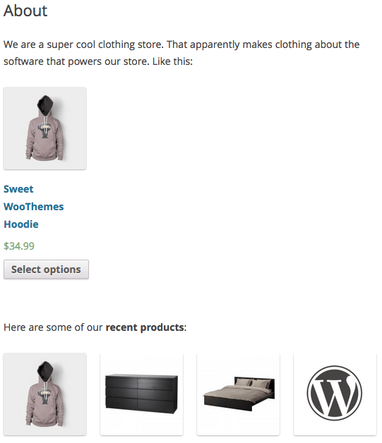 Sell with WordPress WooCommerce Frontend Product Shortcodes