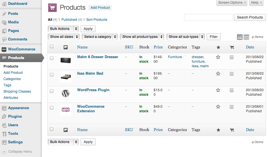 Sell with WordPress WooCommerce Product Manager