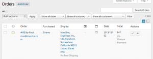 View Orders in WooCommerce 2.1