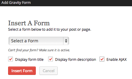 Sell with WP Gravity Forms Review   Inserting forms