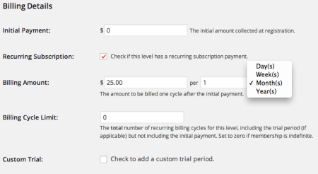 Paid Memberships Pro Review | Billing