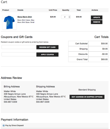 WP EasyCart Review - SellwithWP | Last Checkout Page