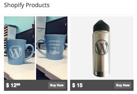 Integrating Shopify and WordPress   Embed Products