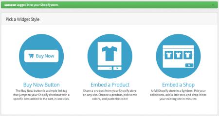 Integrating Shopify and WordPress   Creating Widget