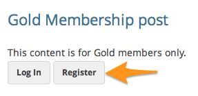 Paid memberships Pro WooCommerce addon | Registration