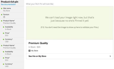 WPSSO Review | Pinterest Rich Pin