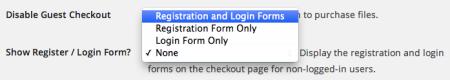 Easy Digital downloads 2.0 Review | registration settings
