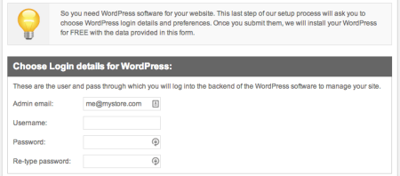 SiteGround Review   WordPress setup wizard