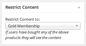 WooCommerce Easy Content Restriction   Restricting Posts / Forums
