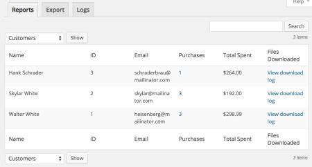 Easy digital downloads vs gumroad customers