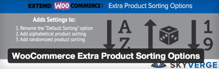 Free WooCommerce extensions | extra sorting options
