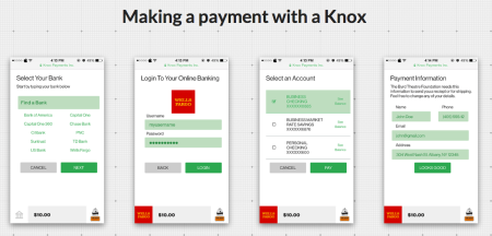 Knox payments woocommerce
