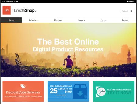 Humbleshop   Best Easy digital downloads themes