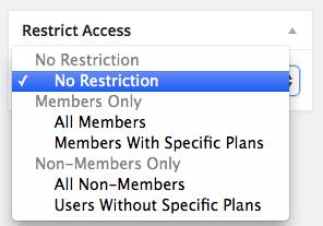 Set membership access