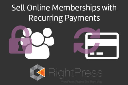 Online Memberships with recurring payments