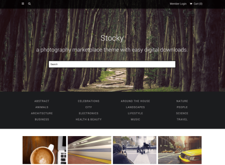Stocky   best Easy Digital Downloads themes