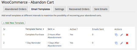 WooCommerce Abandoned Cart Pro Review   emails